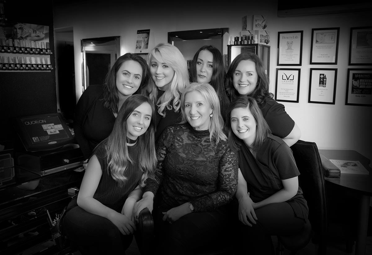 Therapy at Wynyard Salon Staff Group Photo